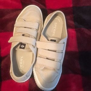 Sperry top- slider shoes with memory foam